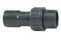 PVC 32mm Sprayline 3/3 Coupler Union Fitting