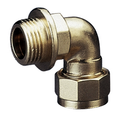 Brass Compression Copper x Male Threaded Elbow