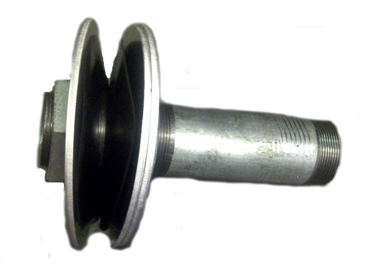 Galv galvanised steel tank connector bulkhead fitting outlet