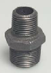 Black Iron Steel Metal  Reducing Nipple