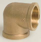 Brass Threaded Elbow 90°