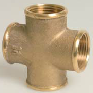 Brass Threaded Cross