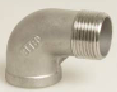 Stainless Steel 316 Threaded Male/Female M/F Elbow 90°