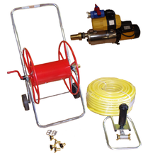 Pump & single Sprinkler for 40mtr x 20mtr riding arena