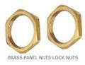 """1/2"""" Brass Back Nut"""