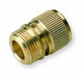 Male BSP x Hoselock type brass quick connector