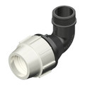 MDPE Plasson Coupler Elbow Male Take Off  Joiner compression fitting