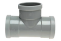 PVC Water Collection Pipe Fitting Tee Rubber Ring FXF