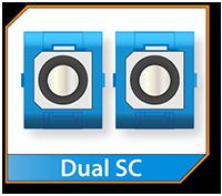 Dual SC Connector