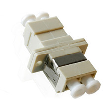 LC to LC Duplex Metalic Sleeve Fiber Optic Adaptor
