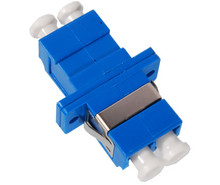 LC to LC Duplex Ceramic Sleeve Fiber Optic Adaptor