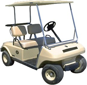 Club Car Golf Cart - DS-82 2000
