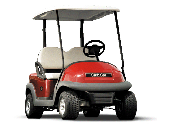 Club Car Golf Carts - Precedent Series | Red