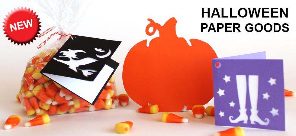 New Halloween paper goods