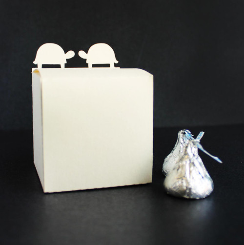 Turtle favor box