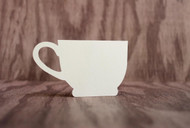Teacup place card - flat