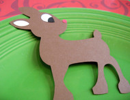 Rudolph the Reindeer Place Card