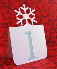 Snowflake table number