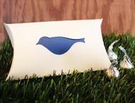 Bird pillow favor box