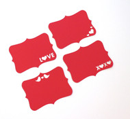 Valentine's Day note cards