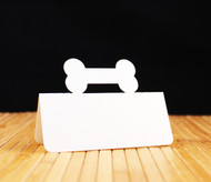 Dog bone place card