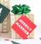 Merrily gift tag