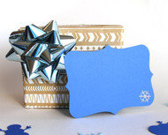 Snowflake note card