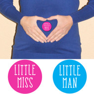 Little Miss & Little Man Stickers