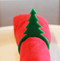 Christmas Tree Acrylic Napkin Rings