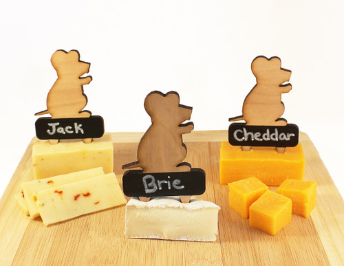 Writeable mice cheese markers