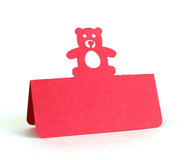 Teddy bear place card