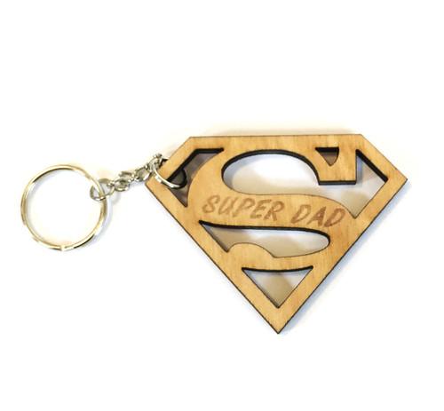 Super Dad Keychain