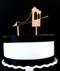 Brooklyn Bridge cake topper - wood
