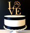 Love philly paw cake topper