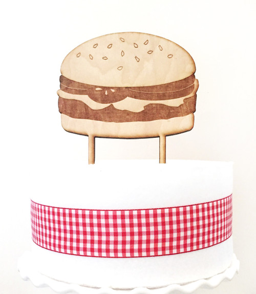 Hamburger Cake Topper