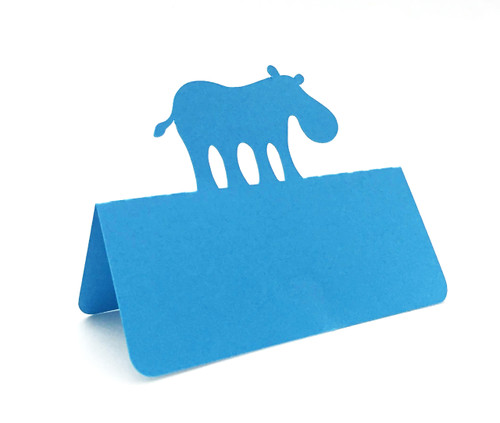 Hippo place card