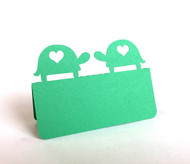 Turtle love place card