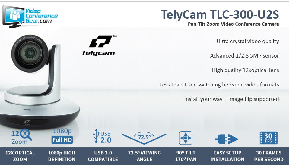 TelyCam TLC 300 U2S