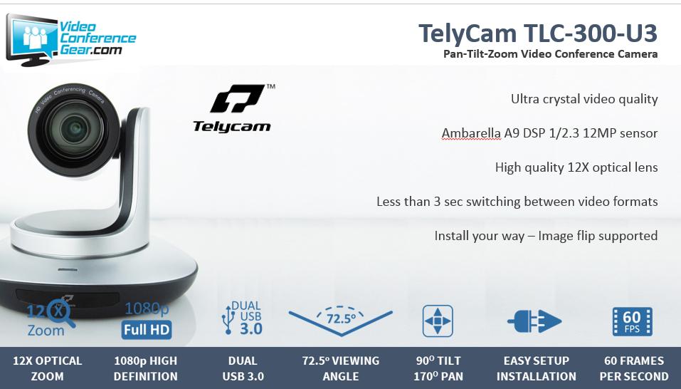 TelyCam TLC 300 U3