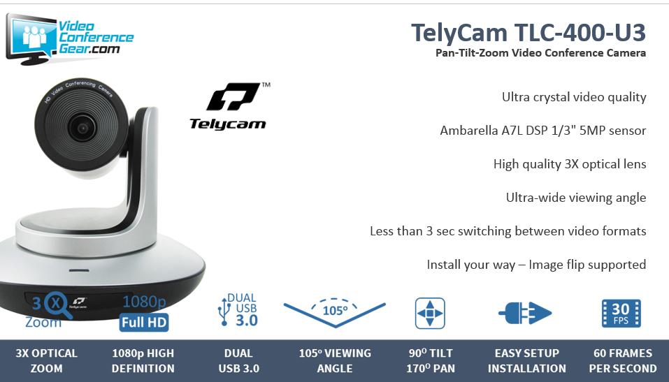 TelyCam TLC 400 U3