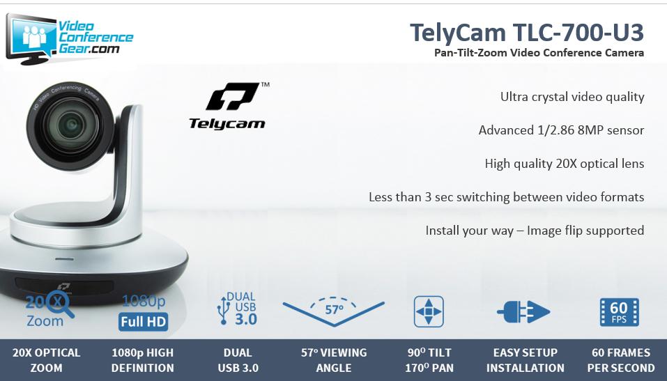 TelyCam TLC 700 U3