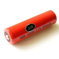 AW IMR 14500 LiMN Rechargeable Lithium Battery