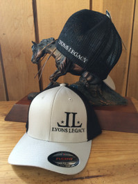 Lyons Legacy FlexFit Black/Gray Hat