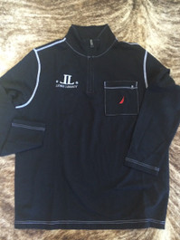 Lyons Legacy Black Embroidered Pullover
