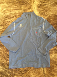 Lyons Legacy Blue Embroidered Pullover