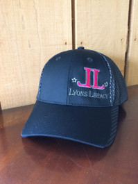 Lyons Legacy Hat ~ Pink Raised Embroidery