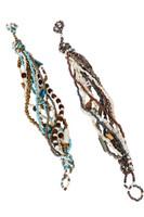 Twisted Glass Bead Bracelet