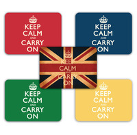 Keep Calm & Carry On Tablemats