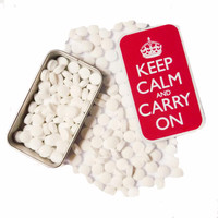 KEEP CALM AND CARRY ON MINTS