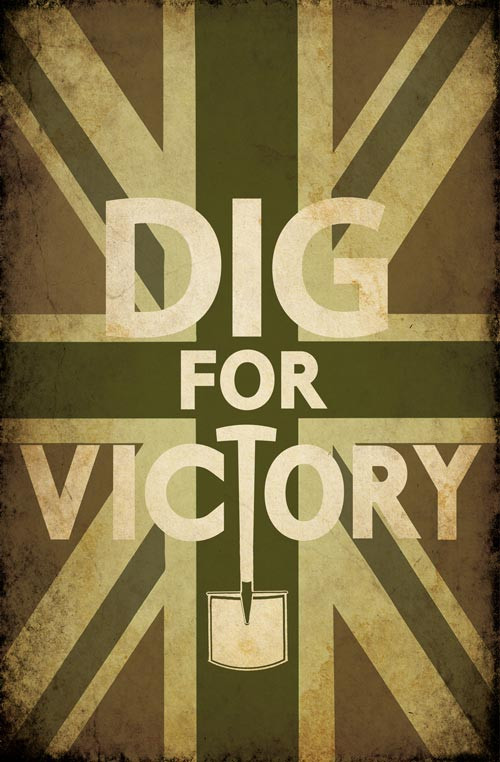 Dig For Victory Poster Keep Calm And Carry On